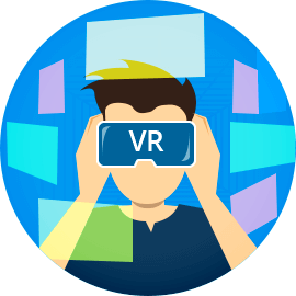 mobile and console vr game