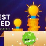 List of top 5 most funded Kickstarter games